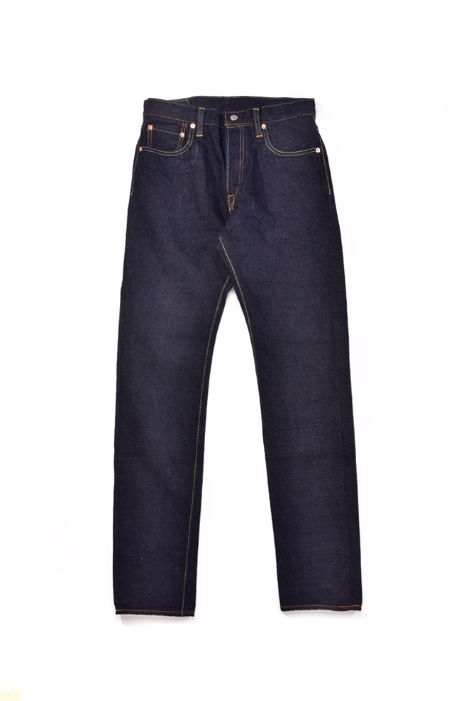 [OG-019] 14oz Organic cotton x Recycled cotton Denim Relaxed Tapered