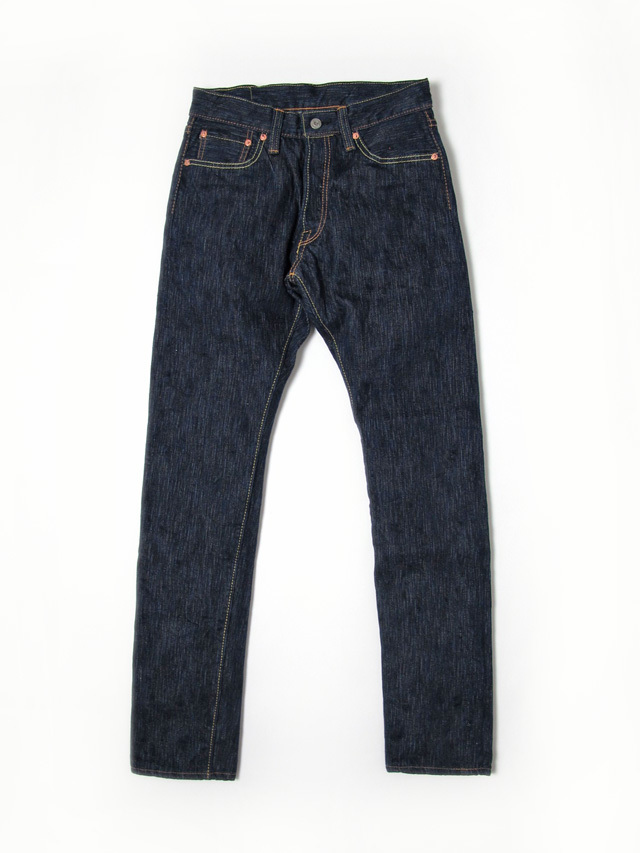 [AI-019] 17.5oz. Natural Indigo Relaxed Tapered
