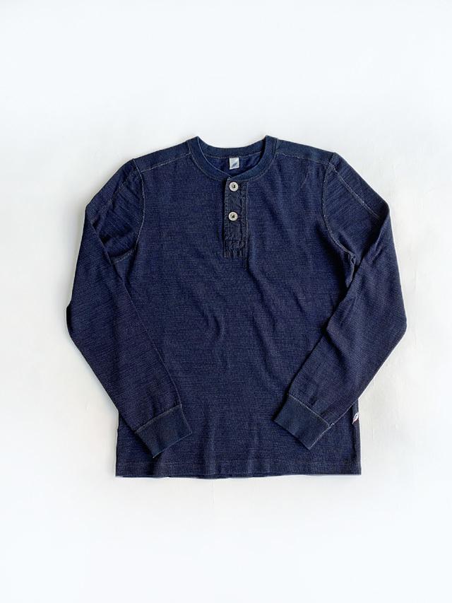 [LS-5371] Slub Jersey Long Sleeve Henley T-shirt