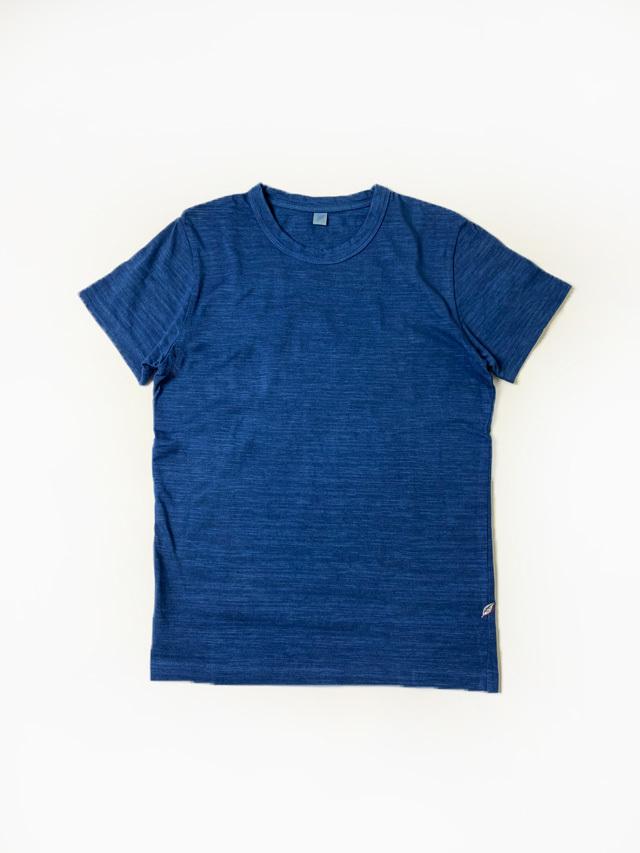 [SS-5011-NID] Natural Indigo Slub Jersey T-shirt