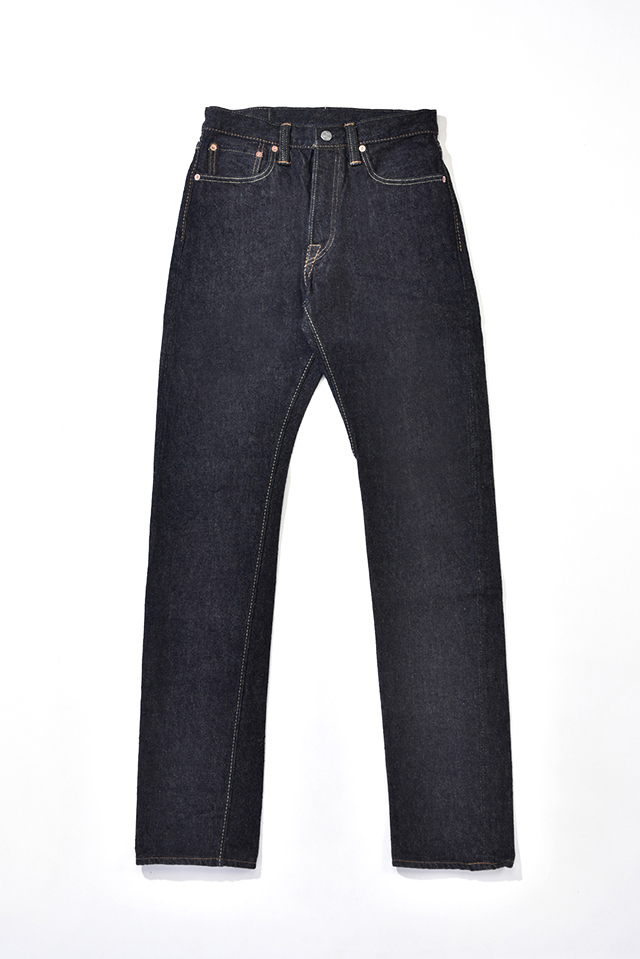 [SLB-019] 16.5oz. Slub Denim Relaxed Tapered