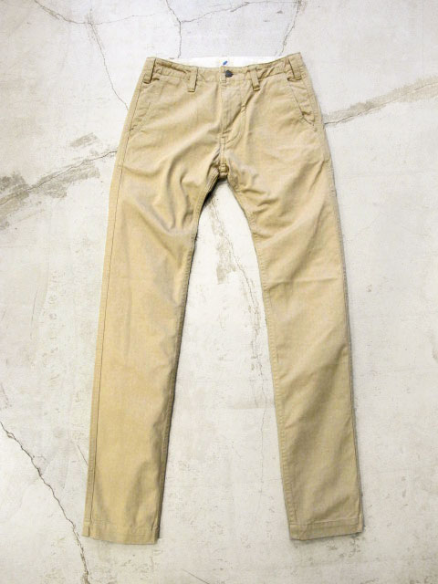 [1012-R] Vintage Chino Trousers (Beige)