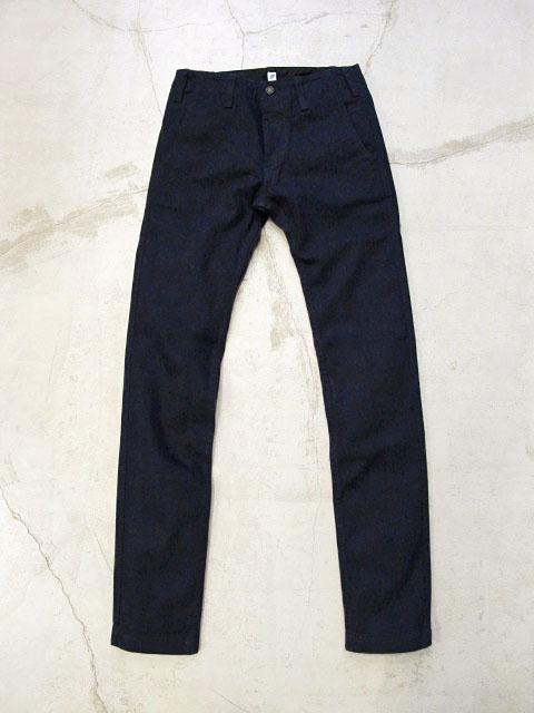 [ID-1012-R] Indigo Chino Trousers