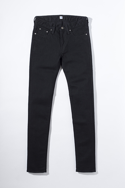 [1069-6-BK] 12oz. Women's Stretch Skinny (Black)