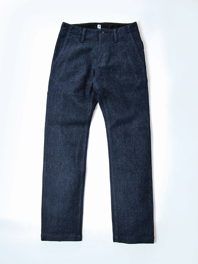 [1147] Indigo Sashiko Work Pants