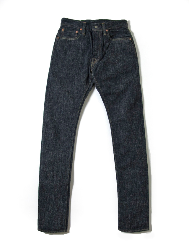 [1151] Chenille Denim 5-Pocket Relaxed Tapered