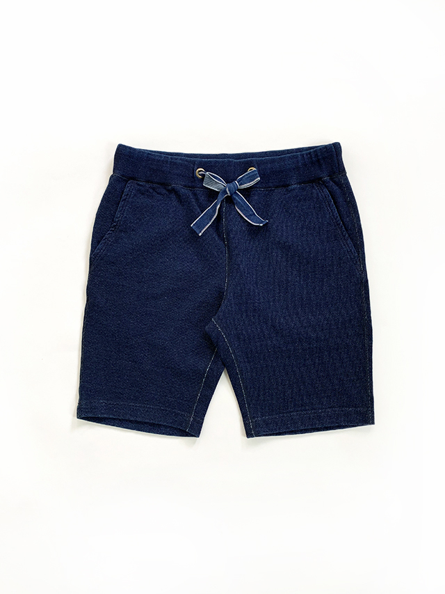 [1152-SP] Indigo Heavyweight Short Sweatpants