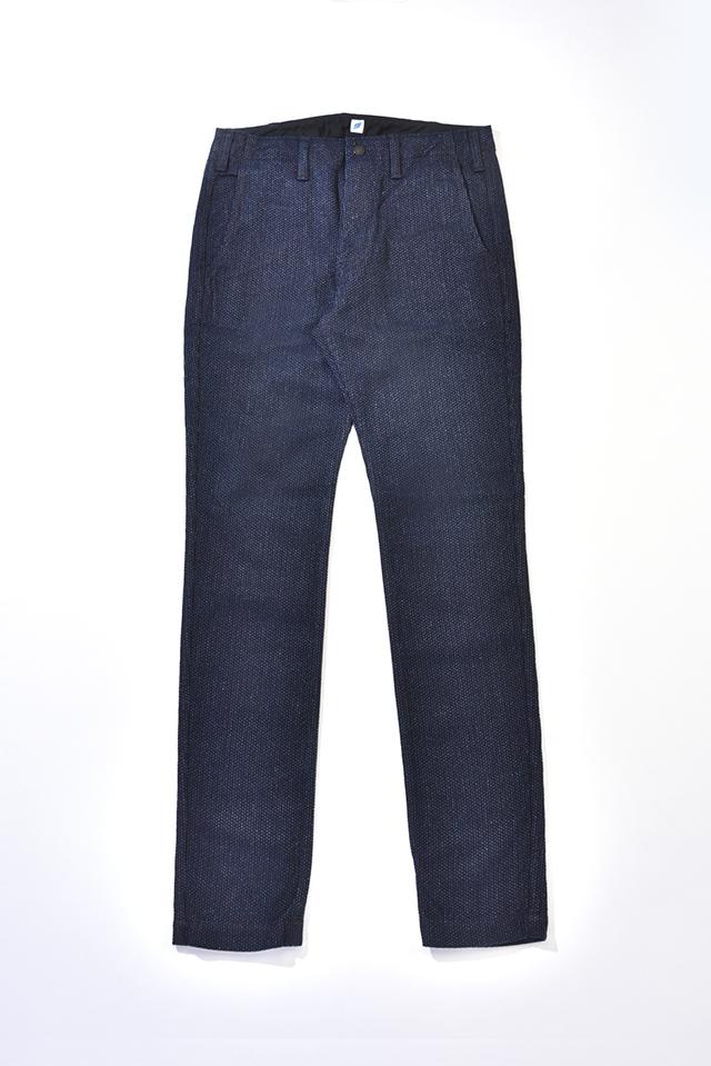 [1154] Selvedge Sashiko Denim Trousers
