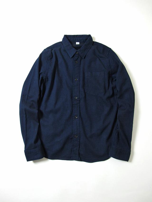 [2200] Indigo Sashiko Shirt