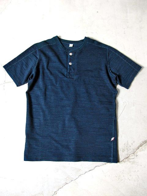 [5347] Slub Jersey Henley T-shirt