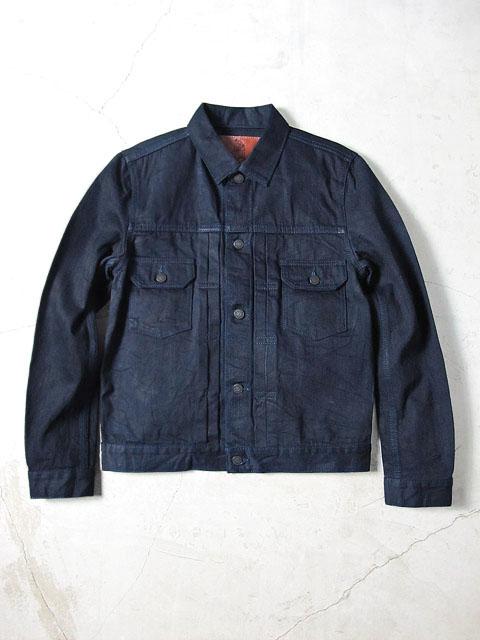 [6066] 14oz. Deep Indigo Denim Type II Jacket