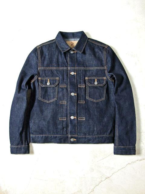 [6079] 18oz. Slubby Denim Type II Jacket