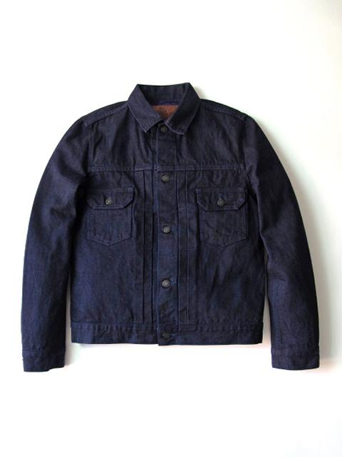 [6083] 14oz. Purple Face Denim Type II Jacket