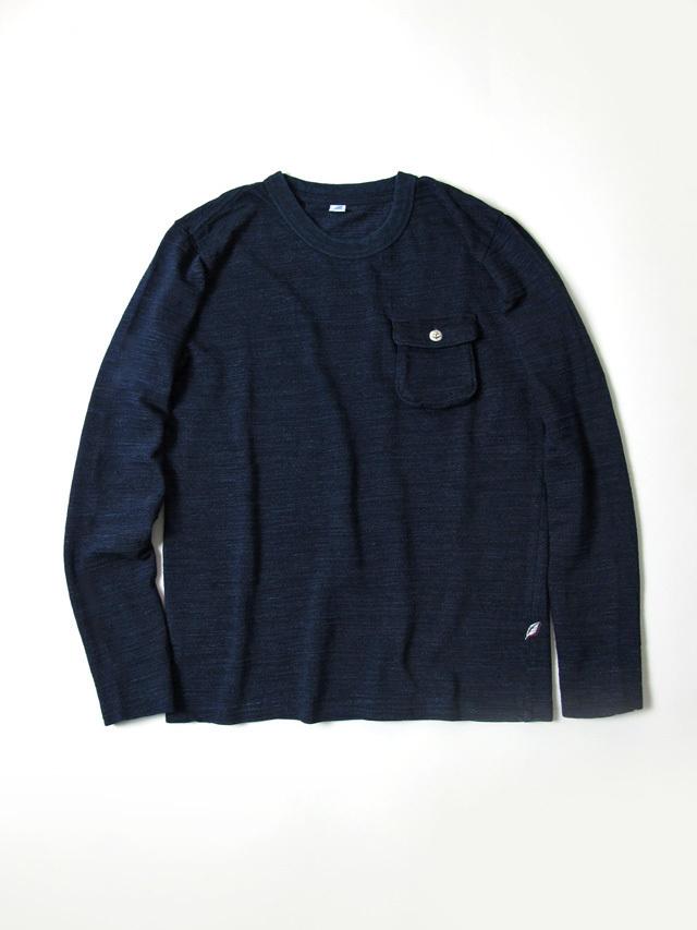 [LS-5353] Slub Jersey Pocket T-Shirt (Long Sleeve)