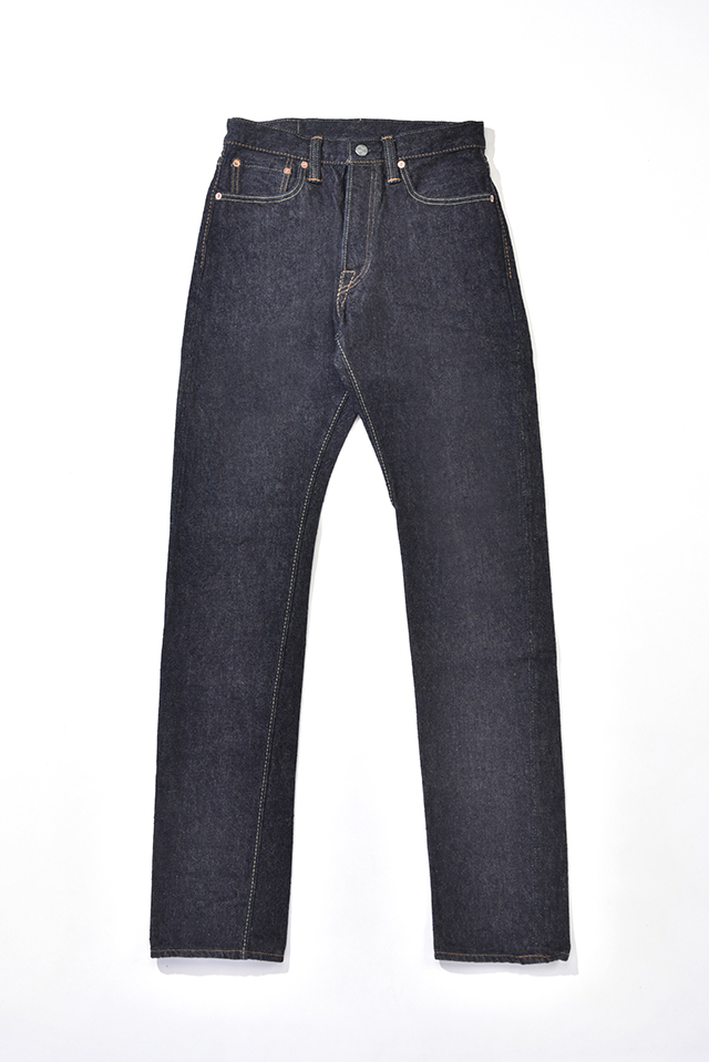 [NP-019] 17oz. Nep Denim Relaxed Tapered