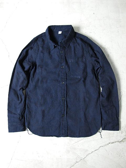 [LS-2190] Jacquard Paisley Shirt