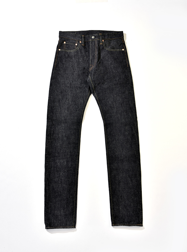 [SLB-013] 16.5oz. Slub Denim Slim Tapered