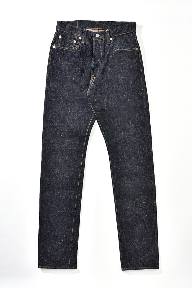 [SN-019] 17oz. Snow Denim Relaxed Tapered