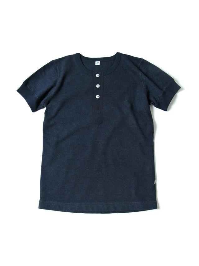 [SS-5356] Military Henley Short Sleeve Lightweight Sweatshirt