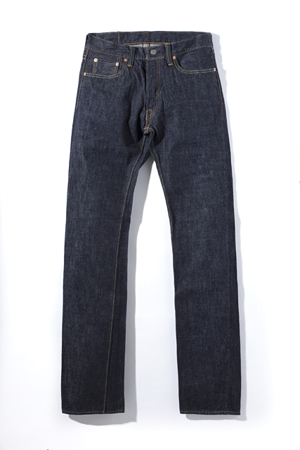 [XX-005] 14oz. Indigo Slim Straight