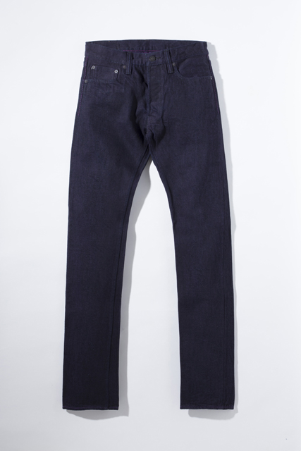 [XX-014] 14oz. Purple Face Slim Tapered