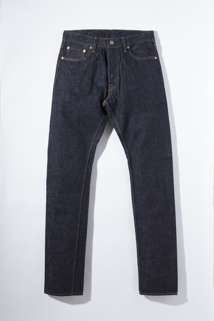 [XX-019] 13.8oz. Nep Denim Relaxed Tapered