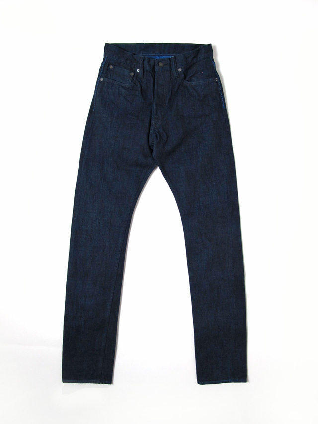 [XX-019-CB] 14oz. Cobalt Denim Relaxed Tapered