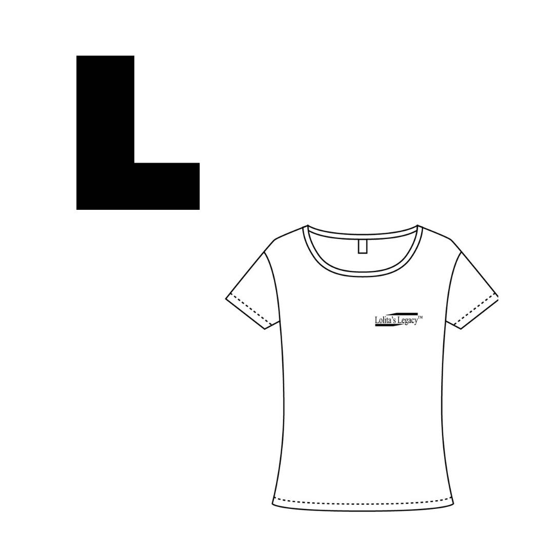 【Lollita´sLegacyロゴ入りトップス】ホワイトLサイズ