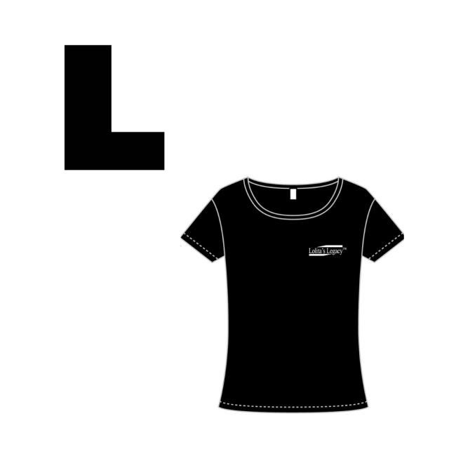 【Lollita´sLegacyロゴ入りトップス】ブラックLサイズ
