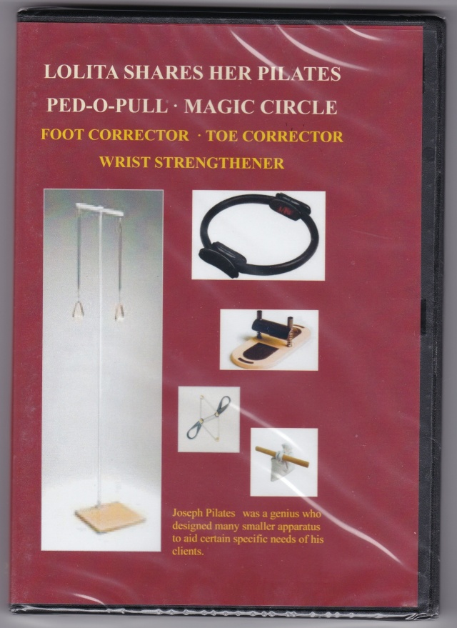 LOLITE SHARES HER PILATES/PED-O-PULL・MAGIC CIRCLE