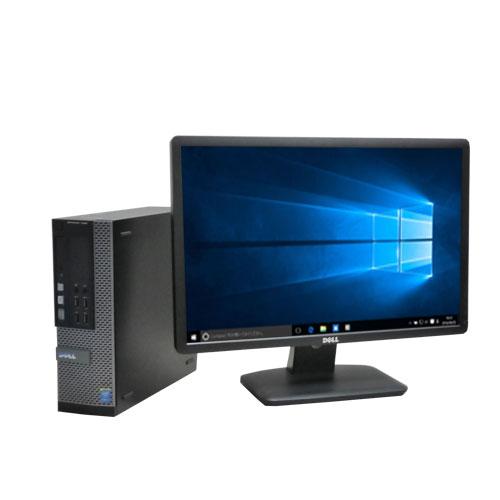 Windows10 64bit DELL  7010SF Core i5 3470  メモリ4GB HDD1TB 22型ワイド液晶  WPS_Office 0347s-3