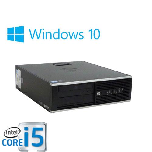 中古パソコン HP 8300SF/Core i5 3470(3.2GHz)/メモリ2GB/HDD250GB/DVDマルチ/Windows10Home 64bit/0498A