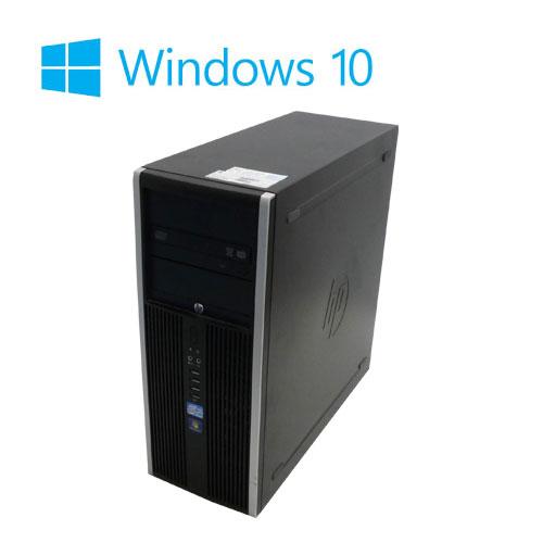 中古パソコン 3画面 大画面23型フルHD液晶/HP 8000MT/Core2 Quad Q9650(3Ghz)/メモリ4GB/HDD500GB/DVDマルチ/GeforceGT710/Windows10Home64bit/0998m