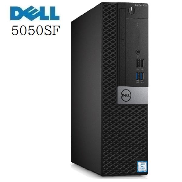 中古パソコン デスクトップパソコン 第7世代 Core i5 メモリ4GB HDD500GB DVDマルチ DELL 5050SF 正規 Windows10 d-349-10