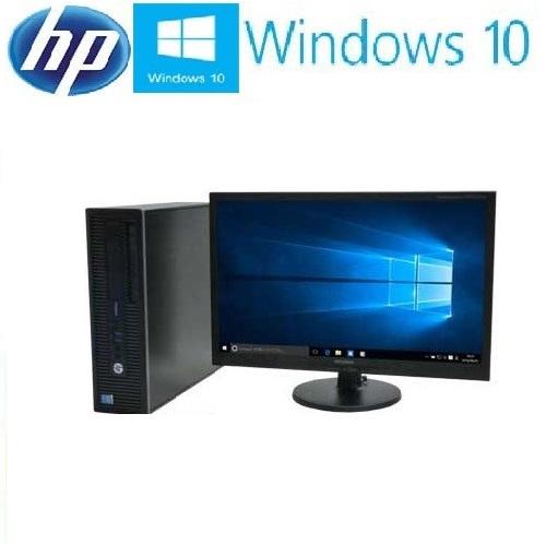 中古パソコン デスクトップパソコン 正規 Windows10 Pro Core i3 4160 3.6Ghz 22型ワイド液晶 メモリ4GB 爆速新品SSD120GB+HDD HP ProDesk 600 G1 SF 1654s15
