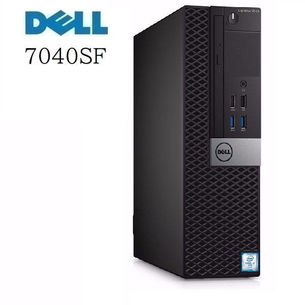 中古パソコン デスクトップパソコン 第6世代 Core i7 メモリ16GB 高速 M.2 新品SSD512GB+HDD1TB DVDマルチ OFFICE DELL 7040SF 正規 Windows10 1166a
