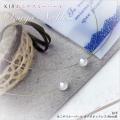 K18 あこやスルーパール オメガネックレス 8mm珠~清潔感ときちんと感を演出♪