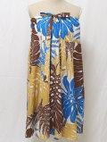 3Wayスカート(ブラウン×ブルー Lサイズ)
