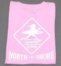 レディース半袖Tシャツ(Surf n Sea ピンク)Mサイズ