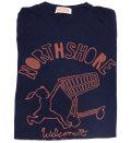 ハレイワスーパーマーケット オリジナルTシャツ(ネイビー)