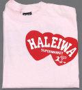 ハレイワスーパーマーケット オリジナルTシャツ(ピンク)