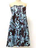 3Wayスカート(ブラウン×水色 Sサイズ)