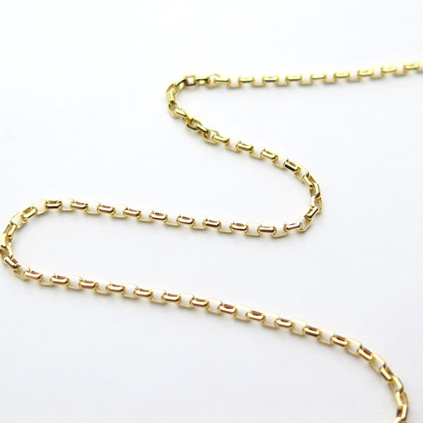イエローゴールド小豆(アズキ)60cm1.5mmアップ
