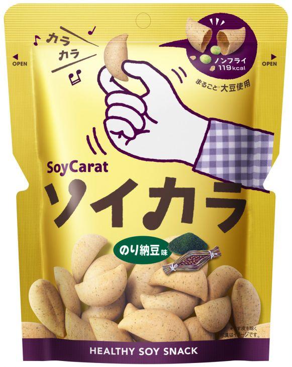 大塚製薬 ソイカラ のり納豆味 27g X 18袋 【送料無料】