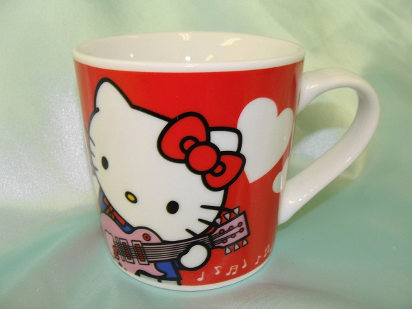 キティマグカップ、レッド