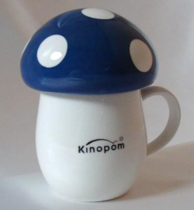 きのポン マグカップ(ブルー)