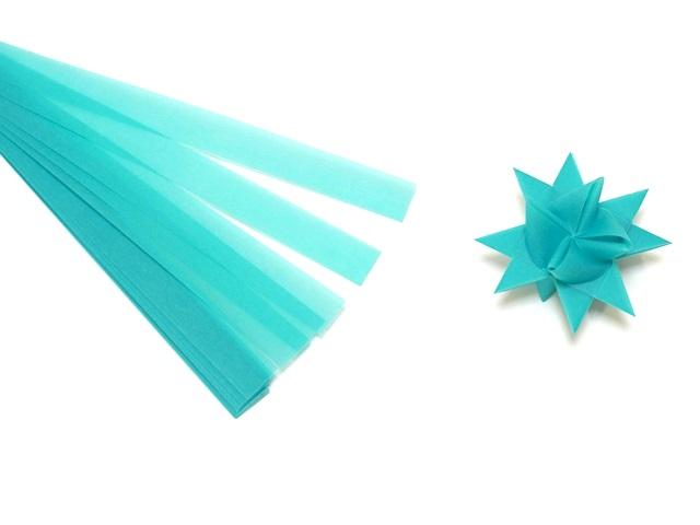【956-D】フレーベルの星用ペーパー/1.5cm×44cm /20枚入/ビビッド/ブルー