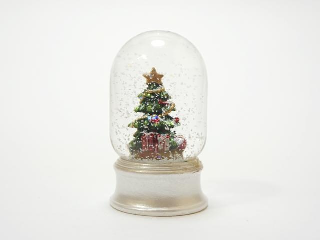 【完売・再入荷なし】【1040】スノードーム/クリスマスツリー