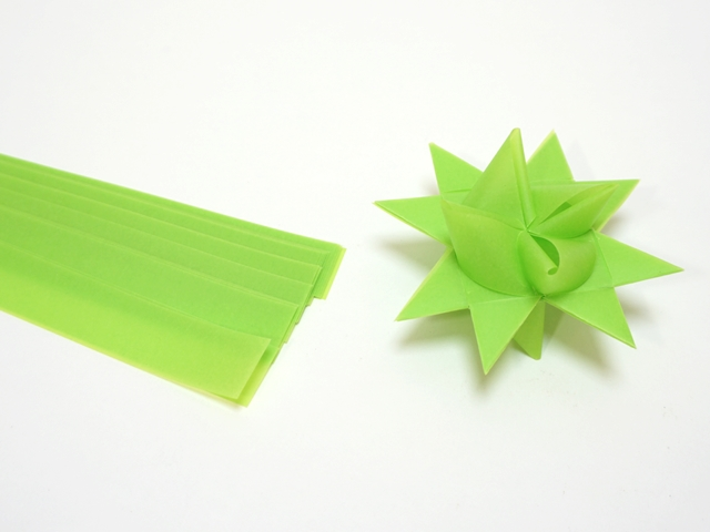 【1099】フレーベルの星用ペーパー/2cm×64cm /20枚入/スプリンググリーン