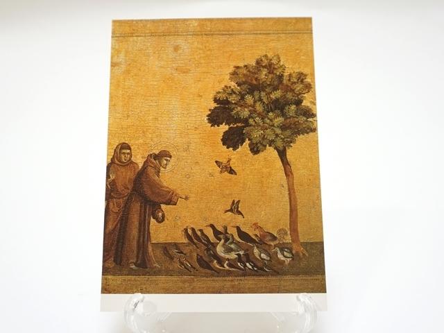 小鳥への説教